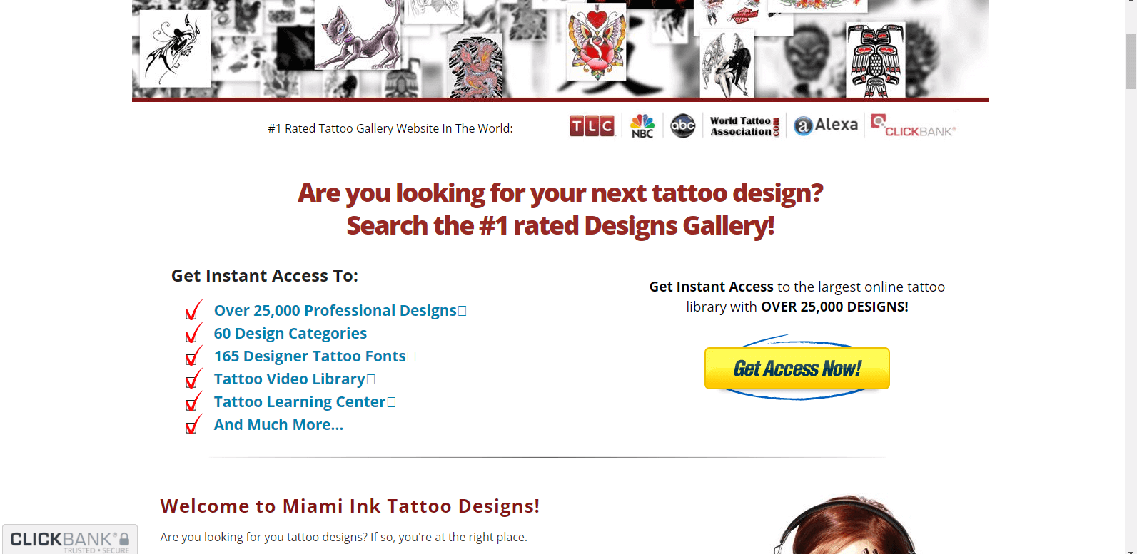 Find your next tattoo fast and easy!