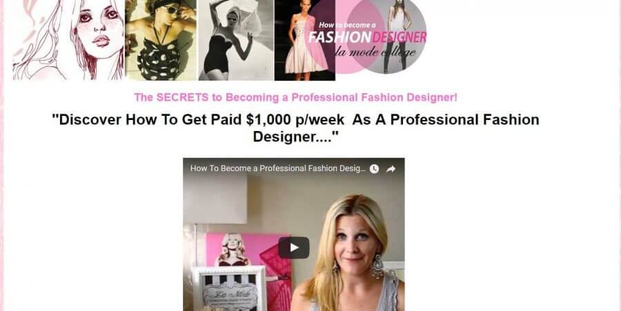 Become a Professional Fashion Designer Now with Professional Fashion Designer eBook