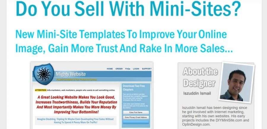 Make your site with Niche Website Templates now!