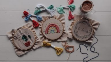5 Simple Hand Embroidery Stitches