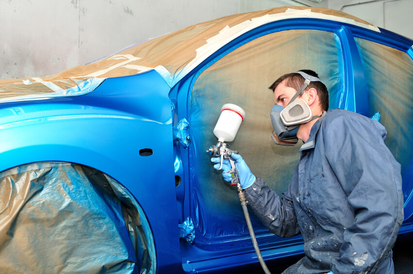 Auto Body Spray dreams come true!