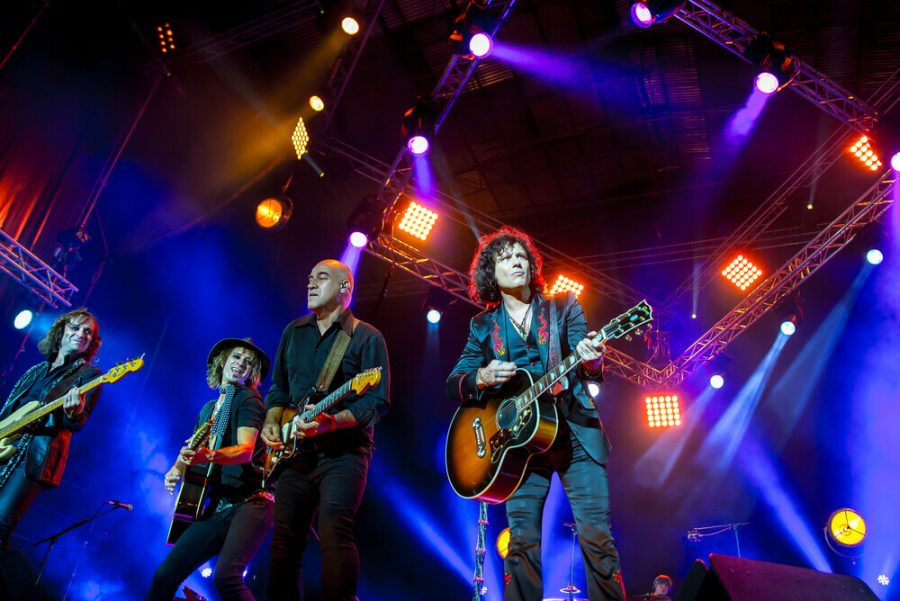 Bunbury (band) perform in concert at Dcode Music Festival