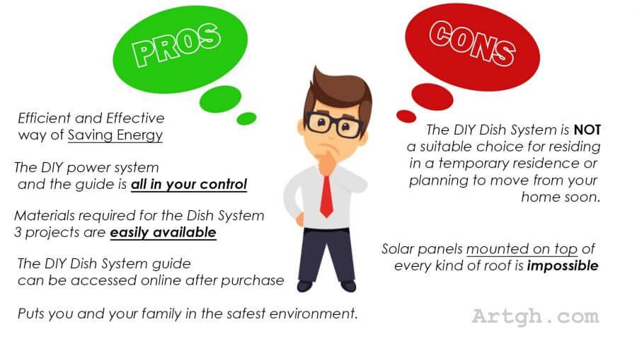 DIY Dish System Pros&cons