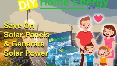 DIY Home Energy Save on Solar Panels