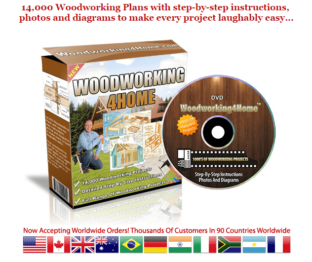 DVD of woodworking plans