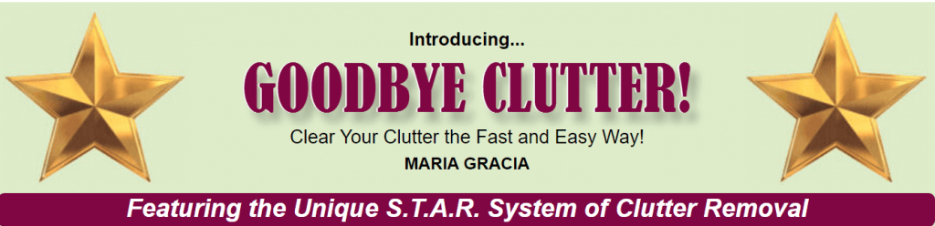 Good Bye Clutter Star System
