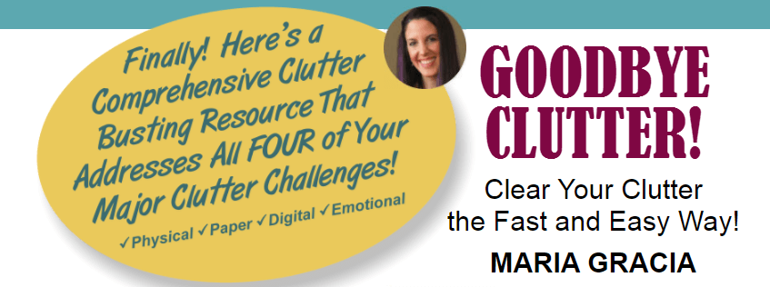 GoodBye Clutter Book cover