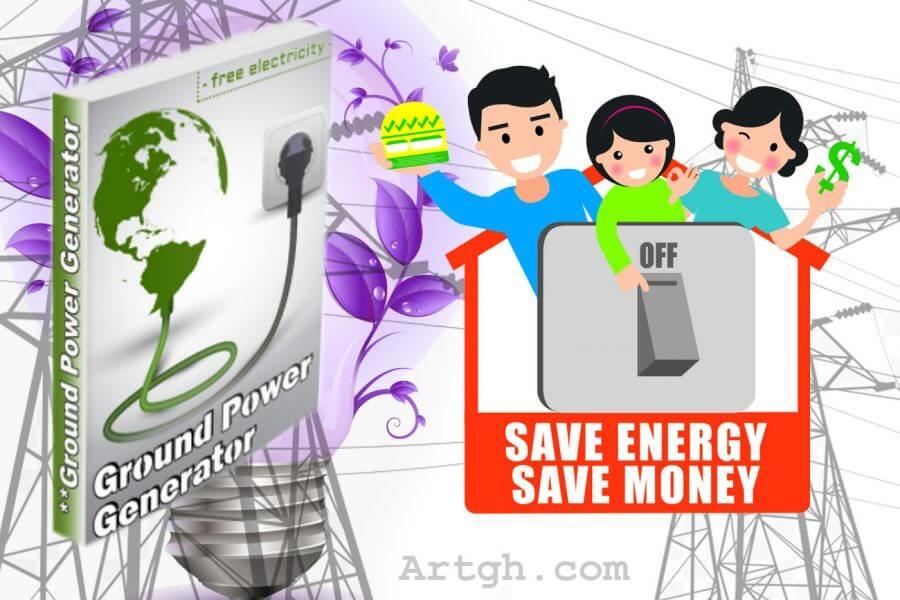 Ground Power Generator Save Power Save Money