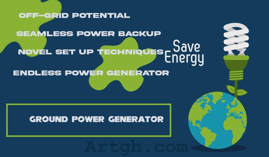Ground Power Generator earth friendly