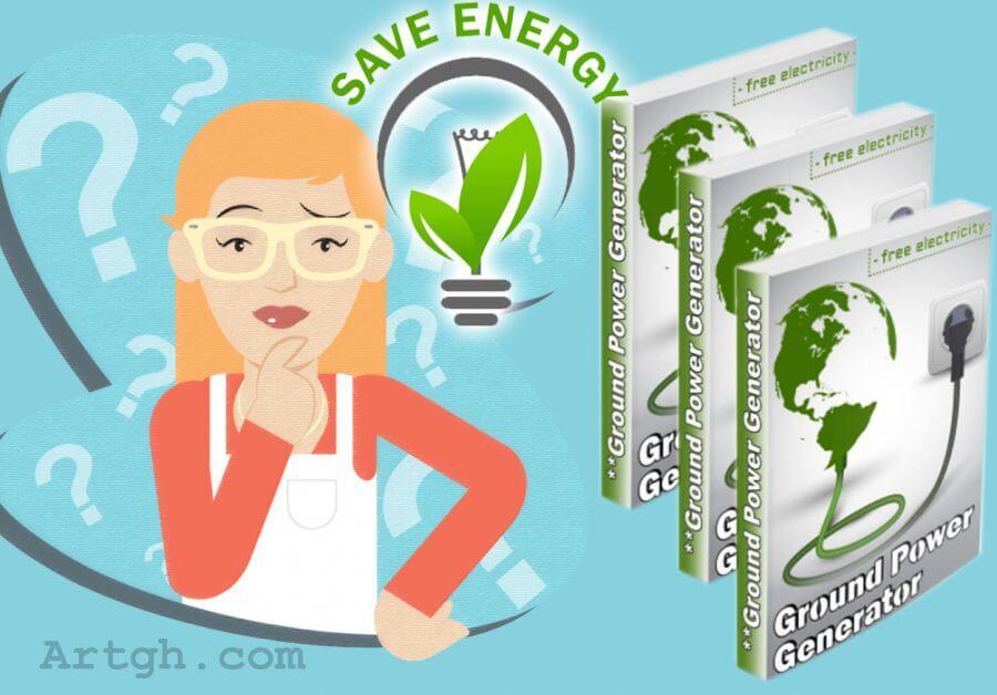 Ground Power Generator System Save Energy