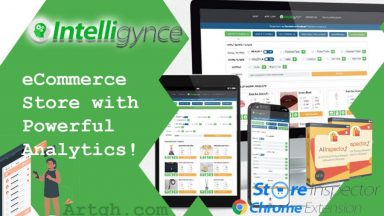 Intelligynce eCommerce Store with Powerful Analytics
