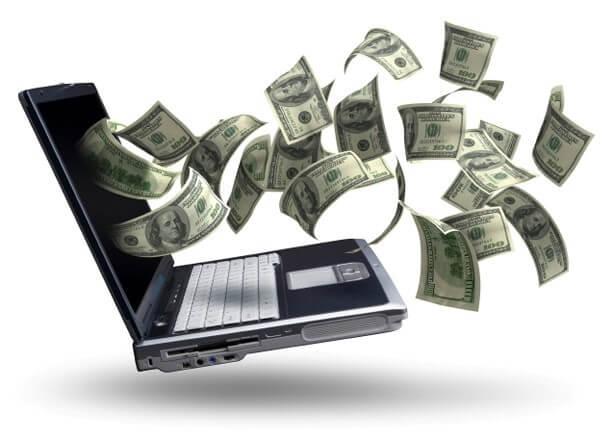 Laptop-Money-Dollars
