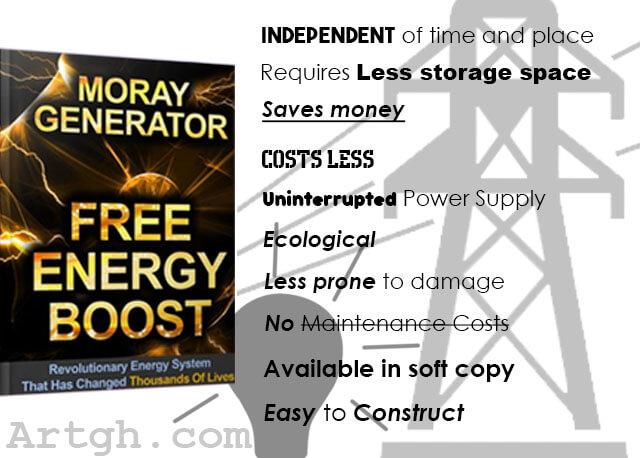 Moray Generator Features of the Moray Generator