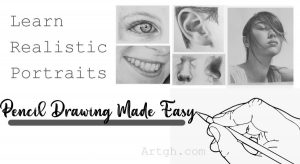 Pencil Drawing Made Easy Realistic portraits