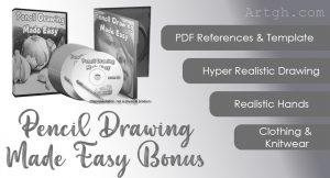 Pencil Drawing Made Easy Bonuses