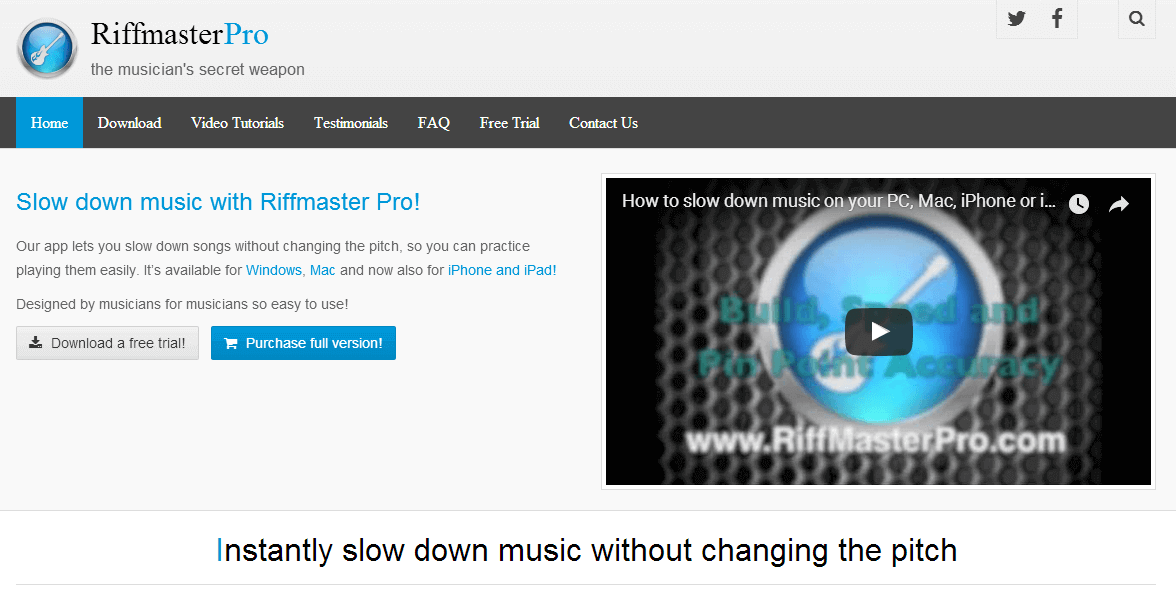 Riffmaster Pro Official Website