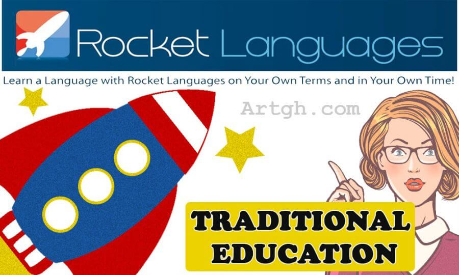 Rocket German Traditional Education