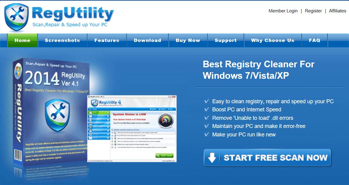RegUtility
