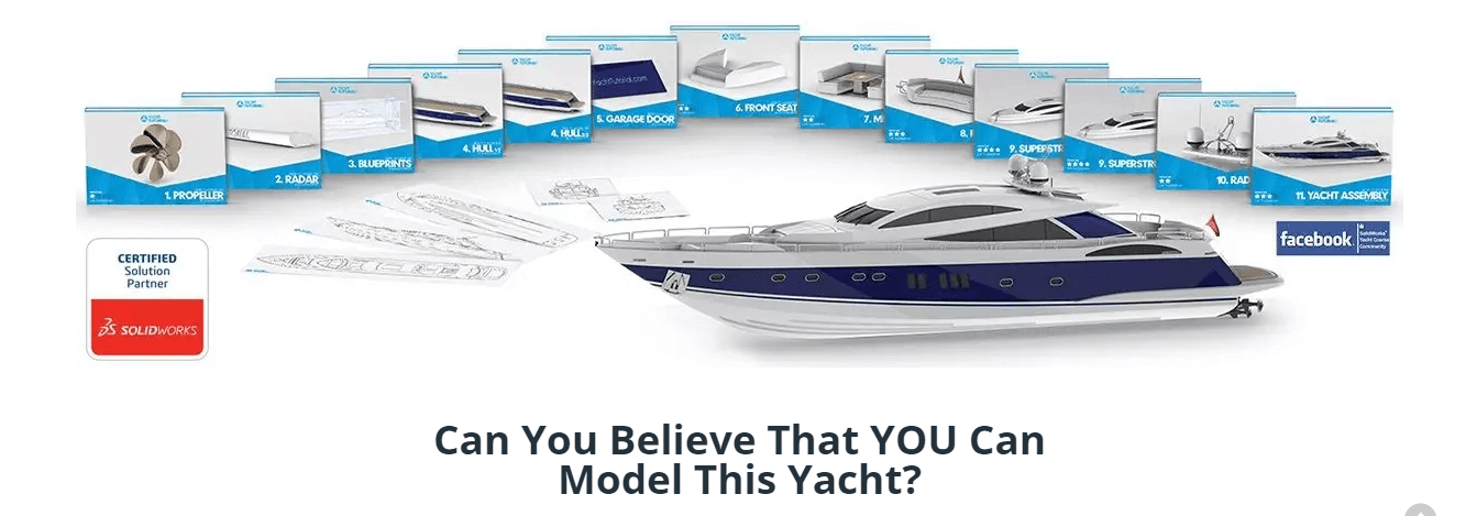 Model Complex Yacht