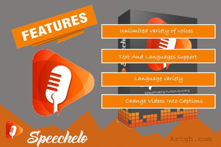 Speechelo Features