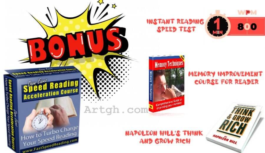Speed Reading Acceleration Secrets Bonus content