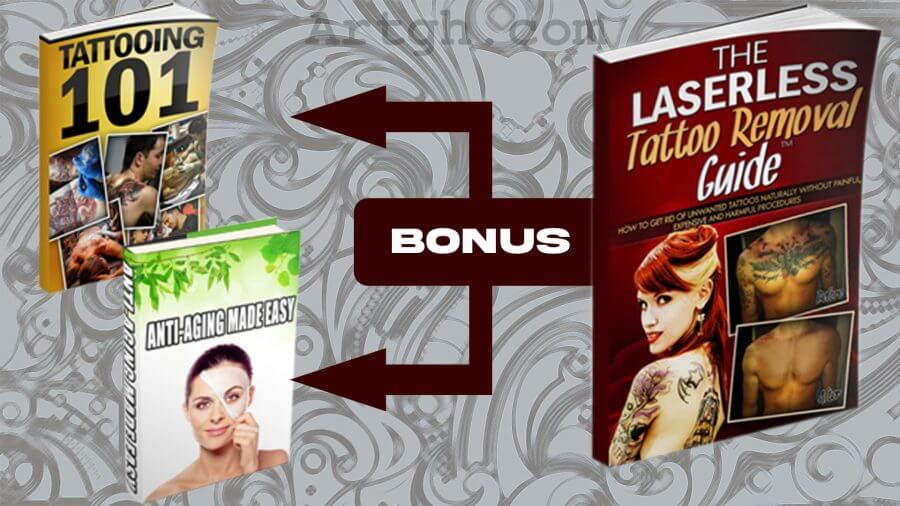 The Laserless Tattoo Removal Product Bonuses