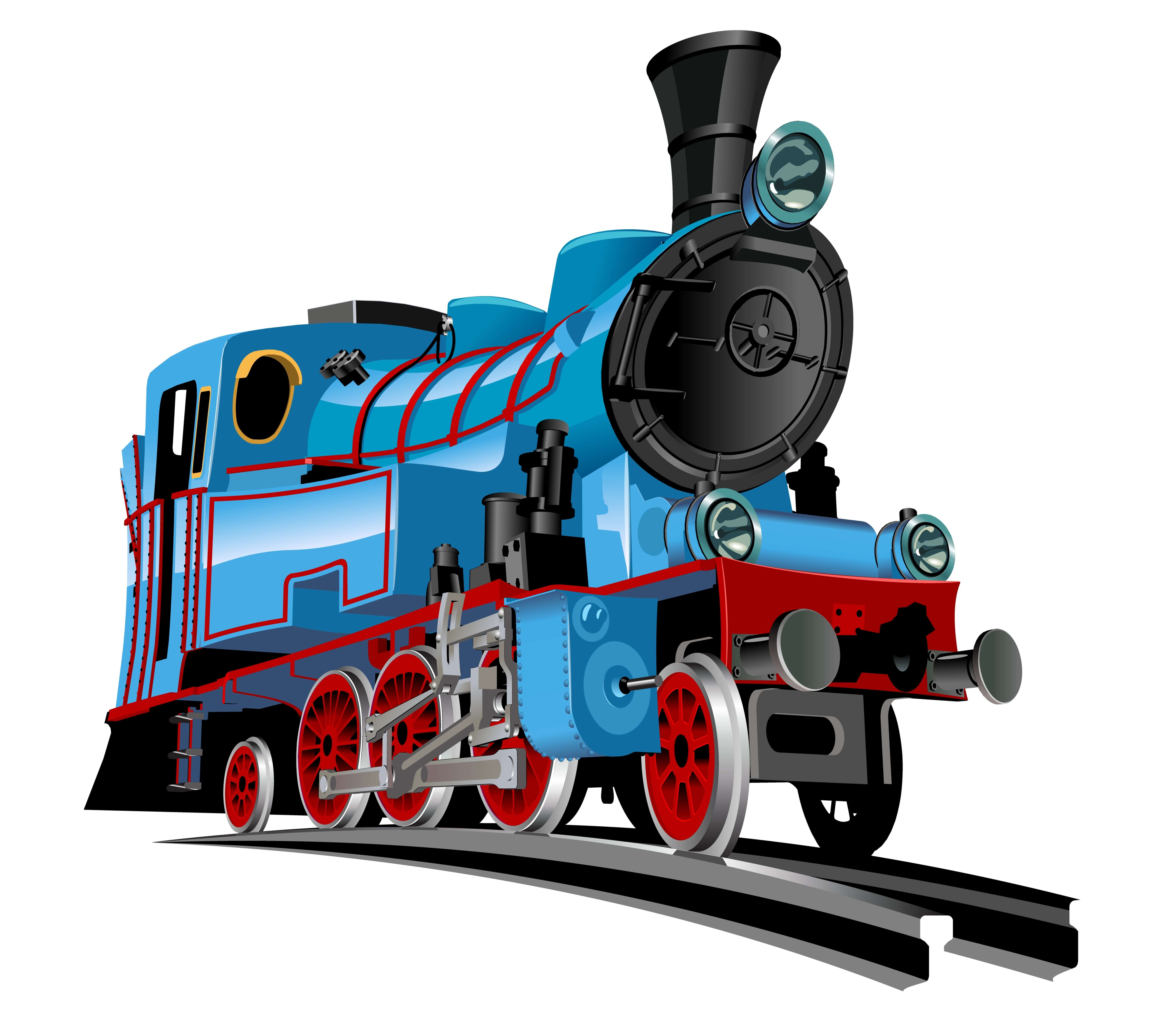 Vector Cartoon Train