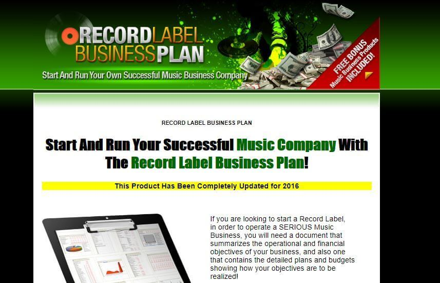 Record label business plan review can you make record label money website what makes it different starting up a business with record label business plans accmission Image collections