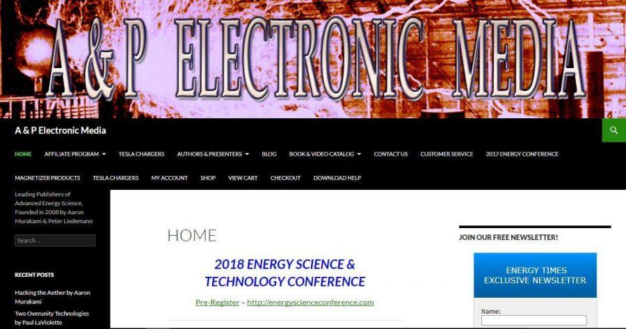 Website of AP Electronics Media