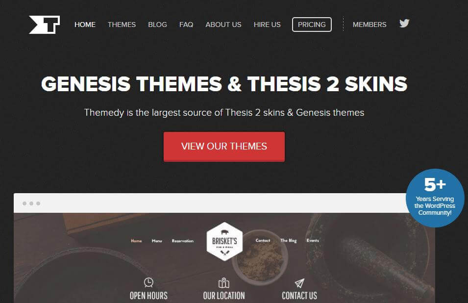 Website of Themedy