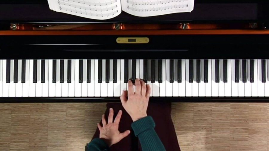 a beginner in playing the piano