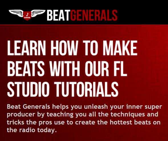 A screenshot describing the Beat Generals program