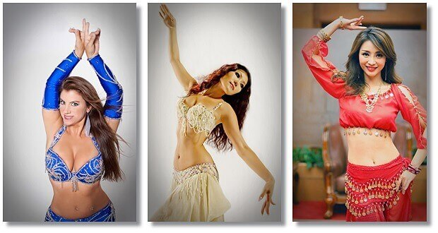 belly dancing by women