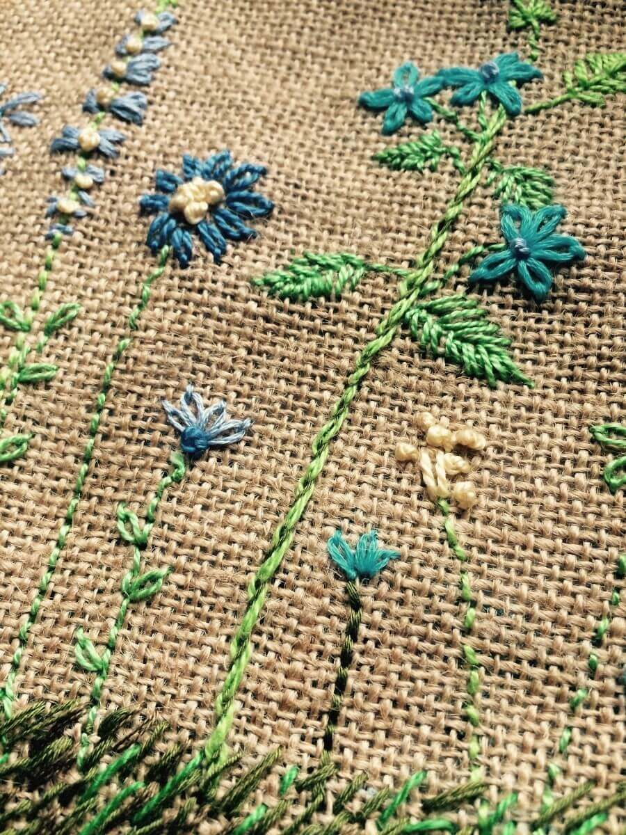 5 Simple Hand Embroidery Stitches That Will Work For You As A Beginner