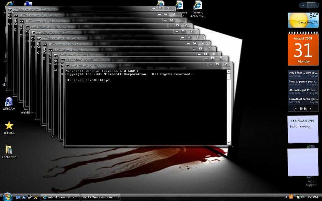 computer crashing