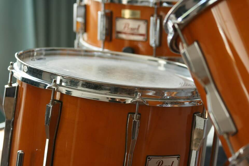 drums, instrument that's essential to make beats