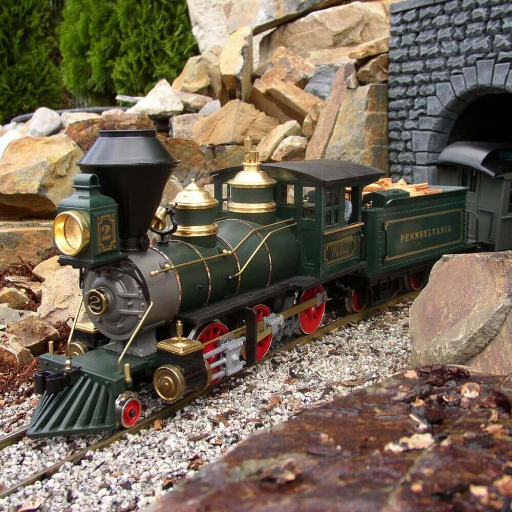 garden model trains