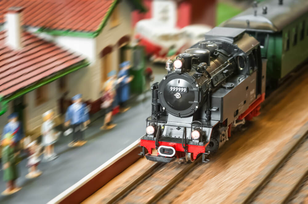 model railroad steam locomotive