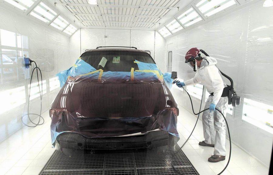 Auto Body Spray dreams come true!