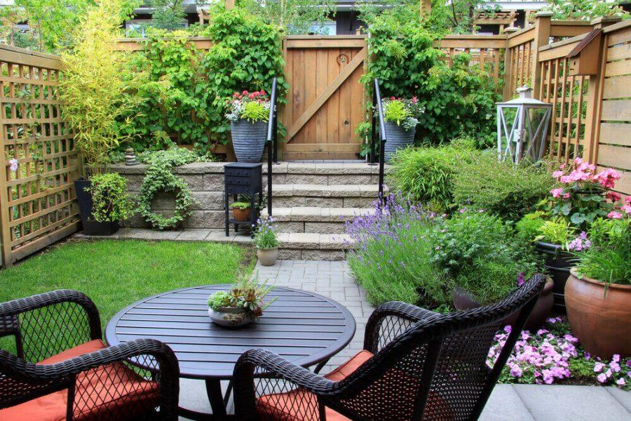 townhouse garden