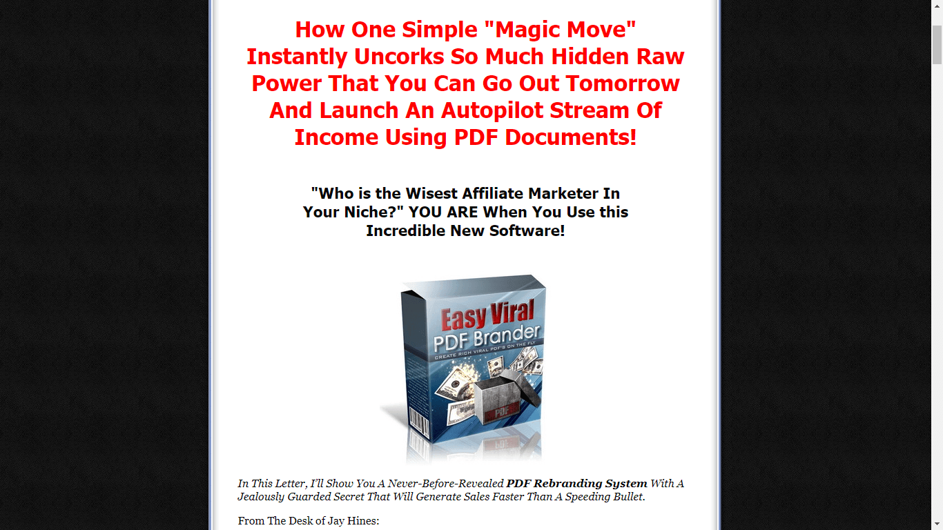 Launch An Autopilot Stream of Income Today
